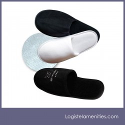 Cotton Embroidered Slippers